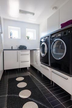 Fullutrustad tvättstuga
