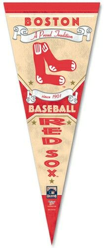 Red Sox heritage pennant