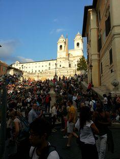 Piazza di Spagna #Roma. #30IFIStour