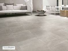Carrelage Ciment Gris 60 x 60 cm naturel rectifié - HomeProject