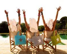 BYRH Beach Bags by the pool - Finca Mallorca