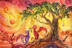 Under the Olive Tree by TrollGirl.deviantart.com on @DeviantArt