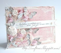 Shabby chic cards ideas butterflies Ideas for 2019 Butterfly Cards, Flower Cards, Paper Cards, Diy Cards, Card Making Inspiration, Making Ideas, Mixed Media Cards, Shabby Chic Cards, Beautiful Handmade Cards
