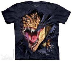 camiseta tiranossauro rex - infantil/feminina - the mountain