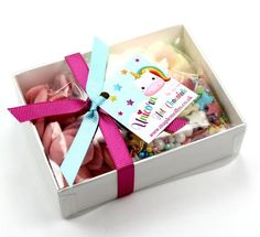 Your place to buy and sell all things handmade Unicorn Birthday Parties, Unicorn Party, Christmas Hot Chocolate, White Chocolate, Candy Board, Whole Milk Powder, Sweet Box, Mason Jar Gifts, Edible Gifts
