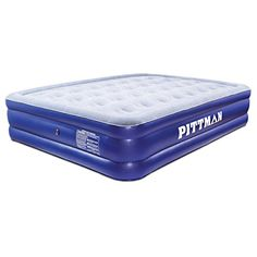 pittman double high queen air mattress with portable electric inflate pump you can find