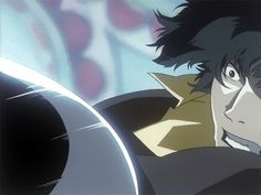 Cowboy Bebop I've always wondered why I felt like Spike really struggled during this fight. Vicious probably new about his fake eye and ultimately tried used this disadvantage (with blind spots) to his advantage Old Anime, Anime Manga, Anime Art, Cowboy Bepop, Cowboy Bebop Anime, See You Space Cowboy, Samurai Champloo, Space Cowboys, Otaku