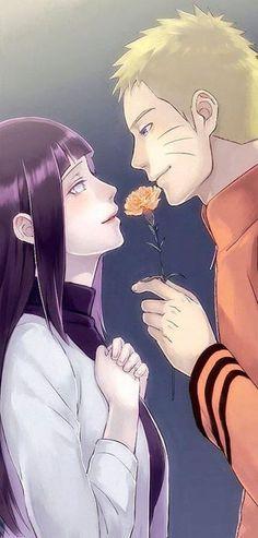 Naruto and Hinata. Hahahahah cant imagine Naruto being all romantic XD Naruto Shippuden Sasuke, Hinata Hyuga, Naruhina, Anime Naruto, Naruto Und Hinata, Naruto Gaiden, Naruto Family, Naruto Couples, Anime Couples
