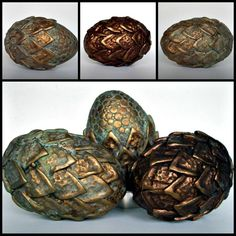 Dragon Eggs Ancient Metals by MandarinMoon on DeviantArt