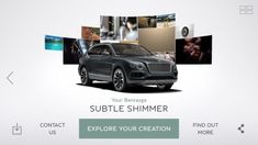 """British automaker Bentley Motors is promoting its new Bentayga SUV with a new mobile application responsive to consumer emotion.    The """"Inspirator"""" app shows a series of images ranging from beaches, surfing and yachting to music and dancing to chinaware and furniture to parties and discos in four separate chapters, using facial and emotional recognition technology to capitalize on the viewer's preferences as it goes on, generating a custom Bentayga for the viewer at the end. The app…"""
