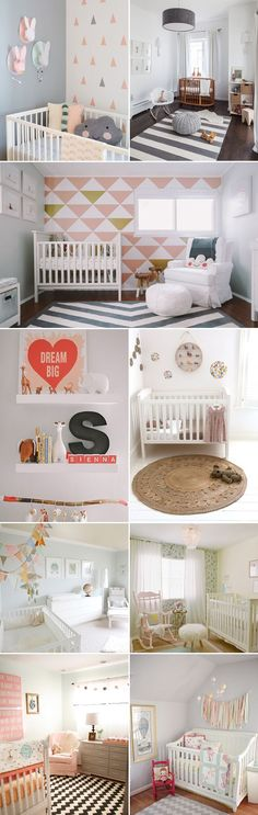 Top left corner walls in blue tints  Nusery-Rooms-01-adorable: