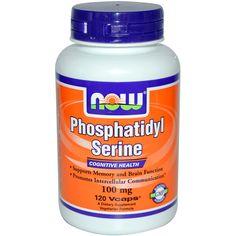 Now Foods, Phosphatidyl Serine, 100 mg, 120 Veg Caps