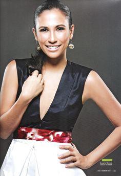 *Stephanie Zubiri in S/L Dress by Xernan Orticio at MYTH    - Photography by Mau Mauricio  - Styling by Mike De Guzman and Geo Palmiano of MGP