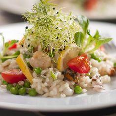 Egy finom Rizottó tengeri gyümölcsökkel ebédre vagy vacsorára? Rizottó tengeri gyümölcsökkel Receptek a Mindmegette.hu Recept gyűjteményében! Cobb Salad, Food, Bulgur, Meal, Eten, Meals