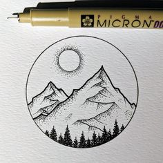 Dotted Drawings, Cool Art Drawings, Pencil Art Drawings, Art Drawings Sketches, Art Sketches, Tumblr Art Drawings, Drawing Designs, Tattoo Sketches, Easy Drawings