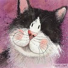 Resultado de imagem para Alex Clark Christmas Cats