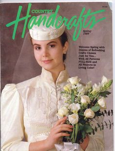 Vintage 1980s Country Handcrafts Magazine Spring by CloesCloset, $7.00