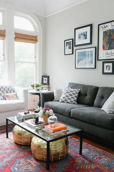 Cool Eclectic Living Room Design