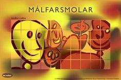 Málfarsmolar. Table Lamp, Paper, Home Decor, Decoration Home, Room Decor, Table Lamps, Interior Design, Home Interiors, Buffet Lamps