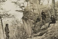 Grant on Lookout Mountain, Tn, 1863