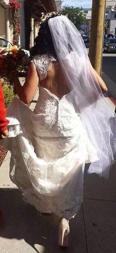 Maggie sottero Bernadette dress. Monterey plaza hotel wedding