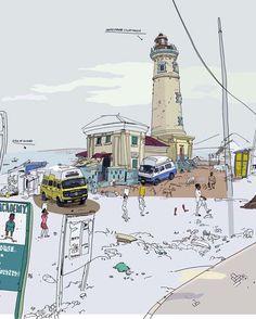 Olivier Kruger illustrations