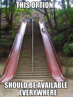 Stairs or slide
