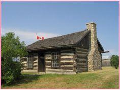 Brandon Log Cabin, Cannington Blacksmith Shop, Blacksmithing, Cabins, Ontario, Canada, House Styles, Home Decor, Decoration Home, Room Decor
