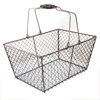 WHOLESALE WIRE BASKETS - The Lucky Clover Trading Co. Really great prices. Great bizrate rating, too.