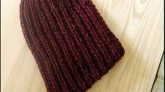 Pasamontañas tejidos en crochet y dos agujas ( imagenes ) - YouTube