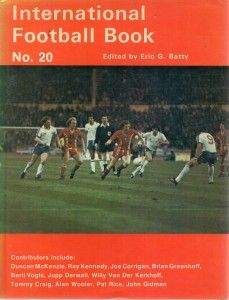 International Football Book No. 20 in 1977 featuring England v Wales on the cover.