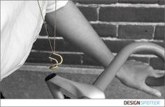 From Michiel Cornelissen (Netherlands): Detour jewelry collection - Handlebar Pendant #tdf2015
