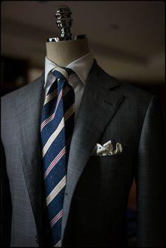 Never Enough Grey Suit !