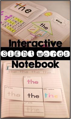 Fun and engaging way to learn and practice sight words! ($)