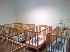 Babyslaapkamer.
