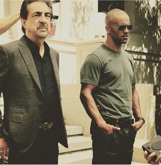 Derek Morgan and David Rossi