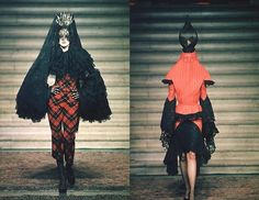 Haute Couture F/W 1997/1998  See more here: http://bohemenoir.blogspot.com/2011/12/retrospective-givenchy-haute-couture.html