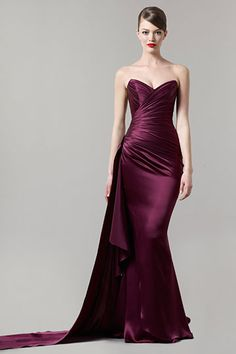 Romona Keveza Fall 2011 RTW  beautiful color for bridesmaids :)