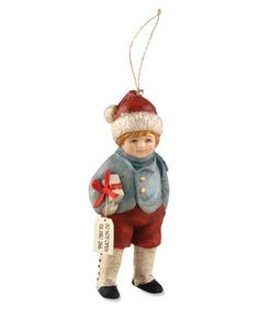 Do Not Open Til Christmas Bethany Lowe Ornament  shelley b home and holiday