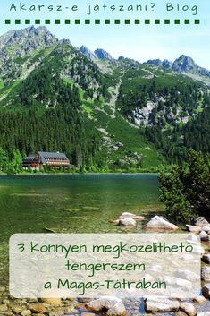 A Magas-Tátra tengerszemeit az utóbbi években igen nagy alapossággal jártam végig, és a többnapi túrával elérhető, nagyon távoliak kivételével el is jutottam mindegyikhez.Most megmutatom azt a hármat, amit a legkönnyebb elérni. #Tátra #Szlovákia #magyar Us Travel, Hungary, Golf Courses, Hiking, Adventure, Mountains, Nature, Summer, Walks