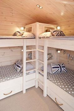 """Awesome """"bunk bed designs space saving"""" information is offered on our internet site. Take a look and you will not be sorry you did. Corner Bunk Beds, Bunk Beds Small Room, Bunk Bed Rooms, Bunk Beds Built In, Modern Bunk Beds, Bunk Beds With Stairs, Cool Bunk Beds, Kids Bunk Beds, Bunk Bed Ideas For Small Rooms"""