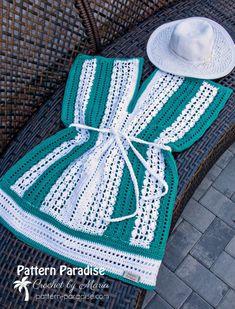 Free Crochet Pattern: Weekender Tunic & Beach Cover Up   Pattern Paradise