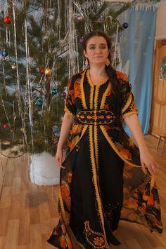 Марокканское платье-кафтан своими руками / Мастер-классы / Burdastyle
