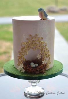 Birds Nest Cake by Elisabeth Palatiello