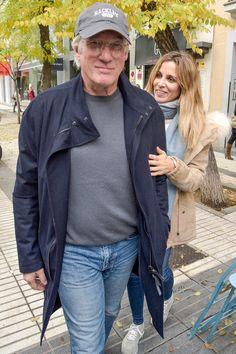 Richard Gere et Alejandra Silva en virée à Madrid (décembre 2016).