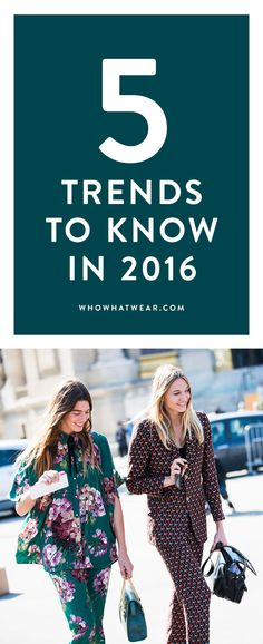 Get ahead of the game and wear these trends early on in 2016