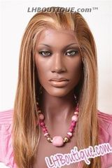 A Plus O Zone Synthetic Lace Front Wig - 107/Brandy