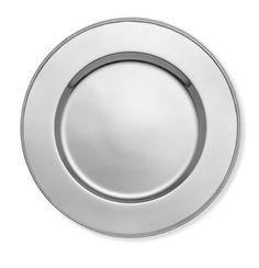 PB Look-Alikes: Save 33.00 @ Crate and Barrel vs Williams-Sonoma Presidio Silver Charger