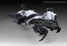 Destiny Sparrow Jet bike (Rear)