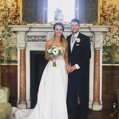 One of our beautiful couples at Sandon Hall #parsleyandsage #wedding2017 #sandonhall